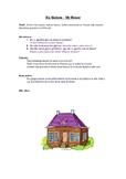 Ma Maison task sheet