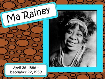 Ma Rainey: Musician in the Spotlight