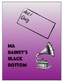 Ma Rainey's Black Bottom Act 1 Quiz