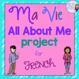 French all about me project for advanced learners