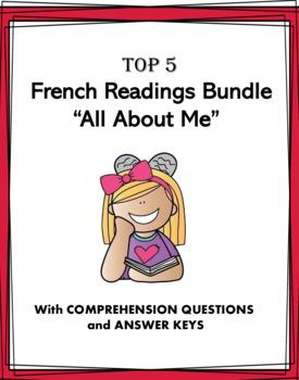 Ma Vie Lectures en Français: French Reading Bundle All About Me: 5 Lectures!