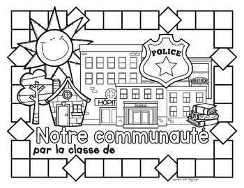 Ma communauté {Collaborative Book}