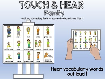 Ma famille / My family - FRENCH - Touch & Hear