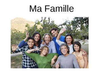 Ma famille / My family / Family members