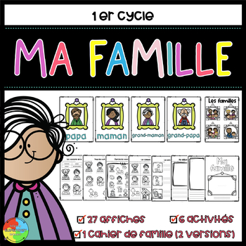 Ma famille / My family French Immersion Kindergarten