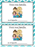 La Famille bundle - French family vocabulary sheet and wri