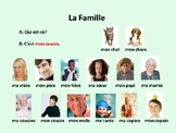 Ma famille, dialogue in French for French 1