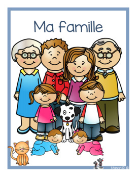 Ma famille (emergent readers)  My family