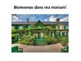 Ma maison, les pièces de la maison, French house vocabulaire