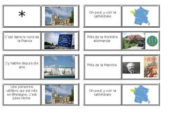 Ma region / Ma ville / Mon quartier / My region / Ma town / My area