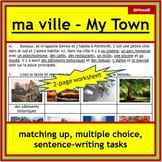 Ma ville / my town: reading and writing for French immersi