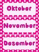 Maande van die jaar pienk