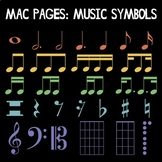 Mac OS Pages: Music Symbols