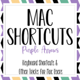 Mac Shortcuts - Purple Arrows