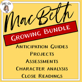 MacBeth Growing Bundle: CCSS Aligned
