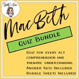 MacBeth Multiple Choice Bundle