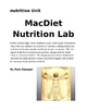 MacDiet Nutrition Lab Report