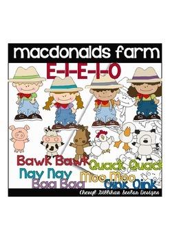 MacDonalds Farm Clipart Collection