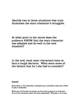 MacFarland Movie Guide and Reflection Opportunity