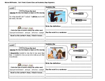 MacGraw Hill Wonders 4th Grade (Unit 1 Week 2)