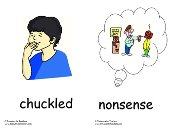 MacMillan Vocabulary Picture Cards - 3rd Grade Unit 2