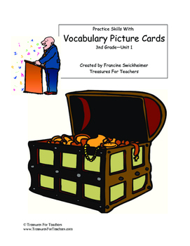 MacMillan Vocabulary Picture Cards - 3rd Grade Unit 2