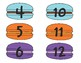 Macaron Class Number Labels