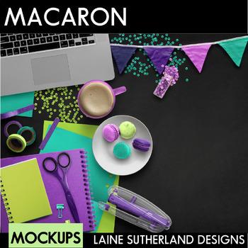 Macaron Treat Scenes Styled Mockups