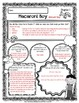 Macaroni Boy Comprehension Guided Reading Packet Chapters