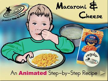 Macaroni & Cheese - Animated Step-by-Step Recipe