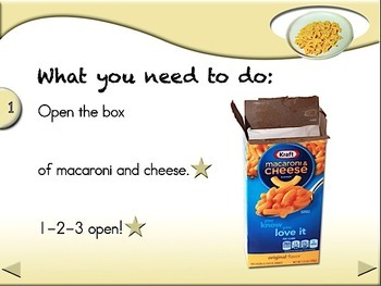 Macaroni & Cheese - Animated Step-by-Step Recipe - Regular