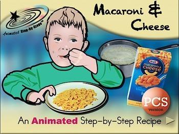 Macaroni & Cheese - Animated Step-by-Step Recipe PCS