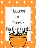 Macaroni and Cheese Partner Cards