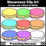 Macaroons Cookies Clip Art SPS