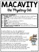 Macavity the Mystery Cat by T.S. Eliot Reading Comprehension Worksheet, Poetry