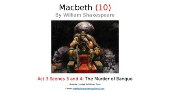 Macbeth (10) Act 3, Scenes 3 and 4