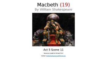 Macbeth (19) Act 5 Scene 11