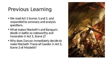 Macbeth (2) Act 1, Scene 3