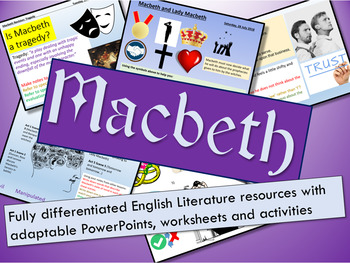 Macbeth - 20 Lessons + Revision Guide