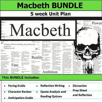 Macbeth Unit Bundle
