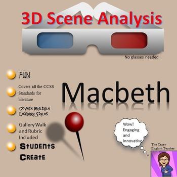 Macbeth: 3-D Scene Analysis Project Diorama: Standards Based