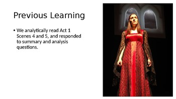 Macbeth (4) Act 1, Scenes 6 and 7