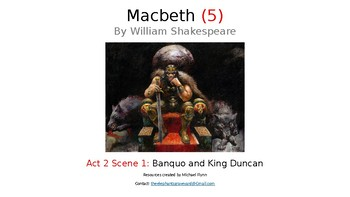 Macbeth (5) Act 2 Scene 1