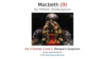 Macbeth (9) Act 3, Scenes 1 and 2