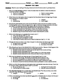 Macbeth - Act 1 Multiple Choice and Short Answer Quiz