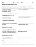 Macbeth Act 1, Sc. 1 - Comparing Multiple Versions