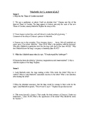 Macbeth Act 1 Scenes 4-7 Questions and Answer Key