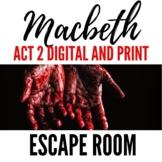 Macbeth Act 2 Escape Room