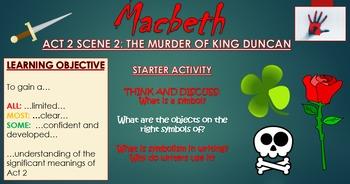 Macbeth: Act 2 Scene 2 - The Murder of King Duncan!