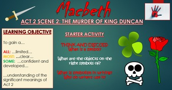 Macbeth: Act 2 Scene 2 - The Murder of King Duncan!